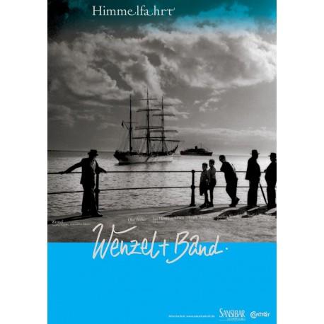 Himmelfahrt Plakat A1 Schwarz/Weiss/Blau gerollte Versendung