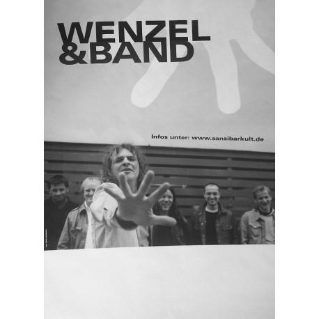 """Wenzel & Band Plakat, A1 """"Schöner Lügen"""", gefaltete Versendung"""