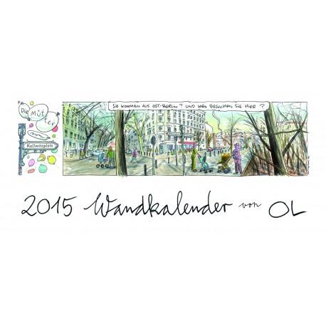 OL Wandkalender für 2015