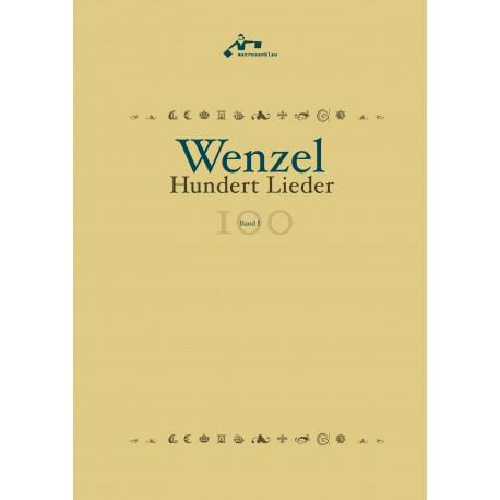 """Buch """"WENZEL:  Hundert Lieder"""""""