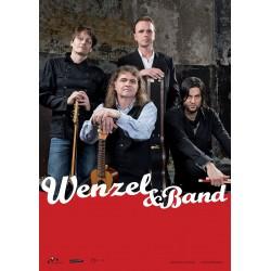 "Wenzel & Band Plakat, A1 ""Widersteh, solang du´s kannst"", gerollte Versendung"