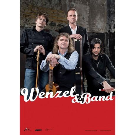 "Wenzel & Band Plakat, A2 ""Widersteh, solang du´s kannst"", gerollte Versendung"