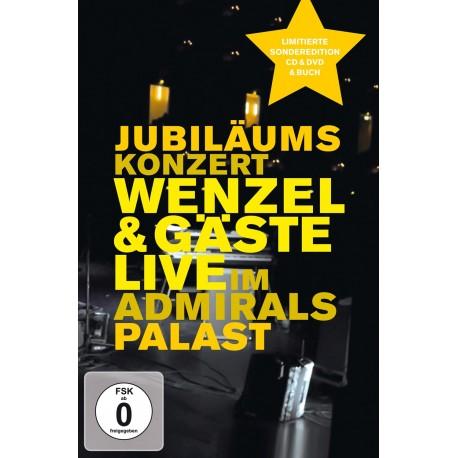 """CD-DVD-Buch """"Jubiläumskonzert - Wenzel & Gäste live im Admiralspalast"""""""