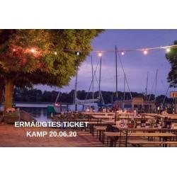 KAMP ERMÄßIGTES Ticket - 20.06.2020 - Wenzel & Gäste